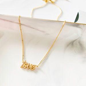 🌺🌺Kate Spade LOVE Pendant Necklace
